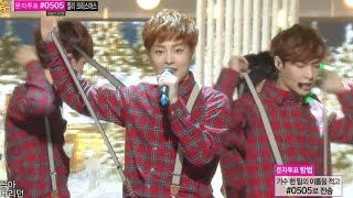 【TVPP】EXO - Christmas Day, 엑소 - 크리스마스 데이 @ Special Stage, Show! Music Core Live