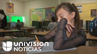 Estudiantes inmigrantes en Estados Unidos sortean obstáculos para llegar a su meta