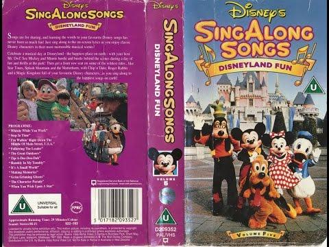 Disney Sing Along Songs: Disneyland Fun (60th Anniversary Tribute)