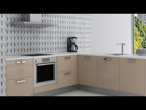 Decorar la cocina con papel pintado youtube - Papel vinilo para cocinas ...