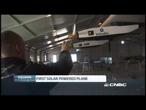 Solar-powered Plane Set to Tour the Globe | CNBC International