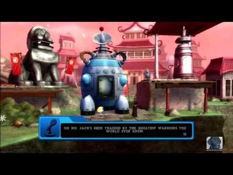 Let's Co-op Play Cartoon Network: Punch Time Explosion XL (1080p) - Part 9: Samurai Jack