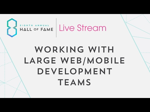 Working With Large Web/Mobile Development Teams