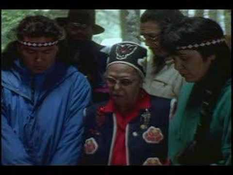 Chief Marie Smith Jones Prays for the Eyaks