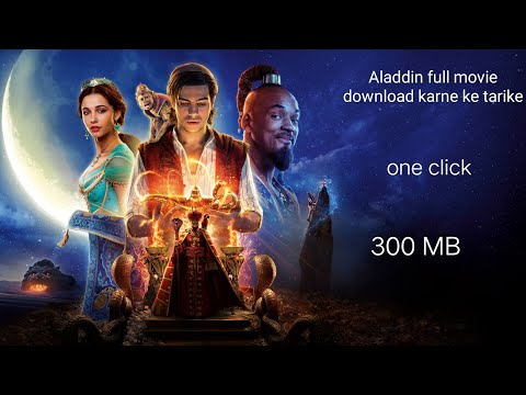 How To Download Aladdin 2019 Full Movie In Hindi Download 300mB