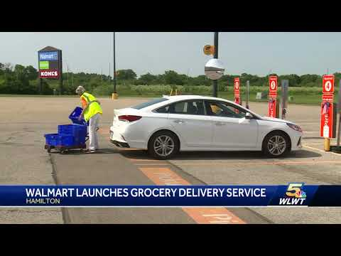 Walmart launches grocery delivery service