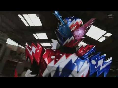 Kamen Rider Build RabbitTank Sparkling  Henshin And Finish
