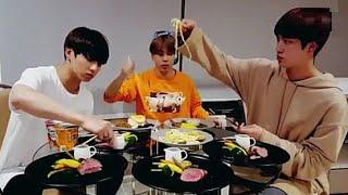Eng sub BTS late Party of Jungkook, Jimin, Jin