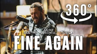 """""""Fine Again"""" by Shaun Morgan of Seether with Staind and Saint Asonia (acoustic version) in 360/3D VR"""