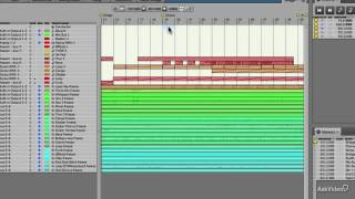 Digital Performer 8 103: Automation and Mixing - 12. Arranging Chunks into a Song
