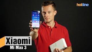 Xiaomi Mi Max 3 — максимум дисплея и времени работы