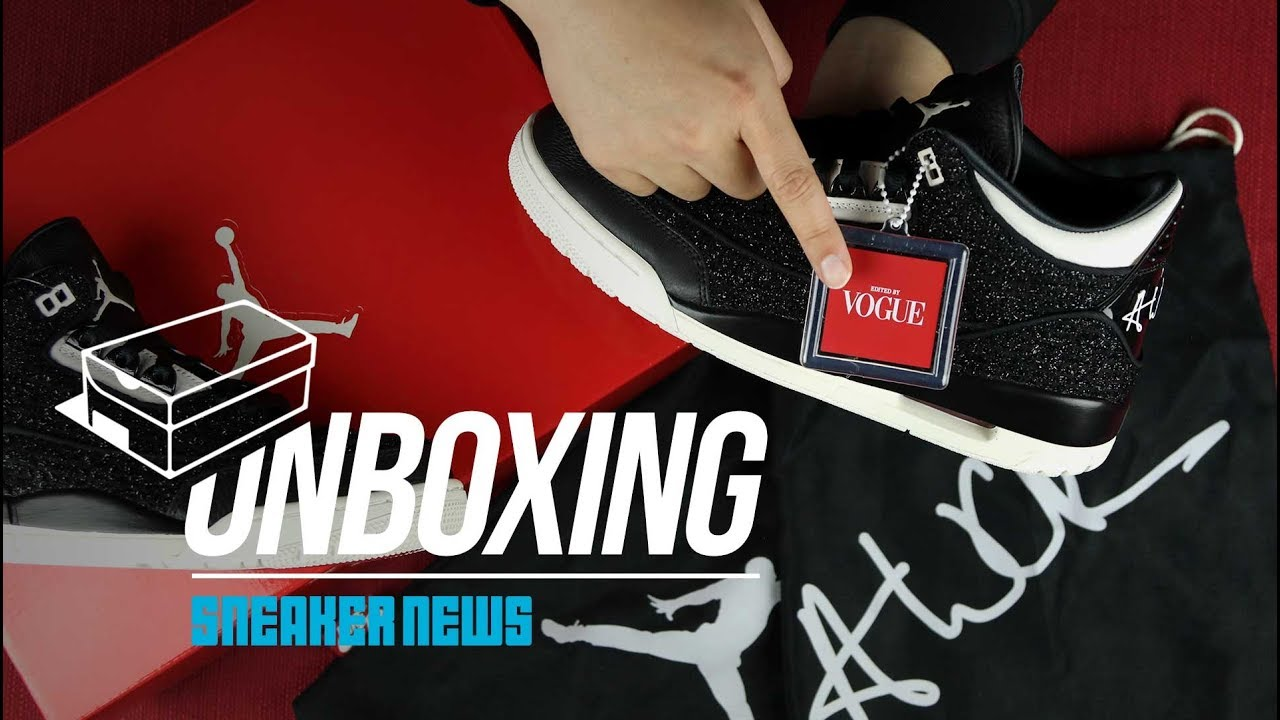 182afffc837726 Unboxing Vogue Air Jordan 3