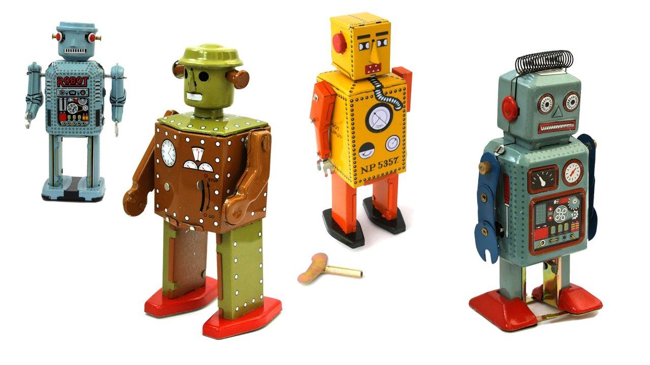 Vintage Robots Toys 4