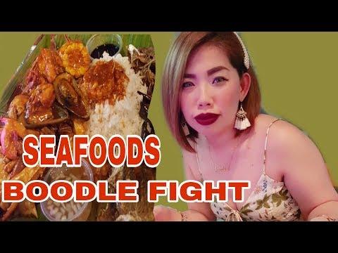 BOODLE FIGHT | NEXT LEVEL RESTAURANT | Josephine Vlogs💕