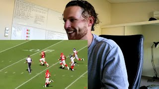 Rugby Player REACTION to NFL Greatest Ankle Breaking Jukes YouTube Video!