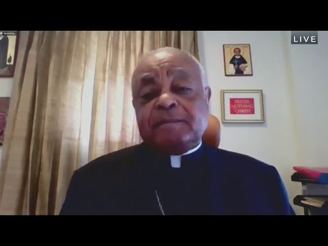 Archbishop Gregory Doubles-Down on Criticism of the President.