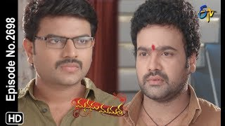 Manasu Mamata   12th September 2019   Full Episode No 2698   ETV Telugu