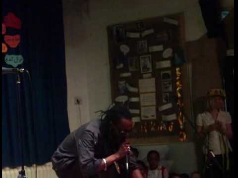 King Ali Baba at Beckford Primary School