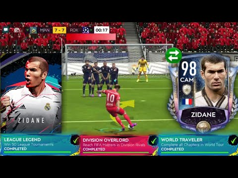 I Got Prime Icon ZIDANE - How To Get Easy & Fast - 110 OVR Insane Team Upgrade In FIFA Mobile 20!