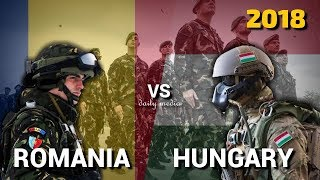 Romania vs Hungary - Military Power Comparison 2018