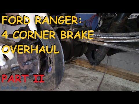 Ford Ranger: Full Brake Job Overhaul - Part II