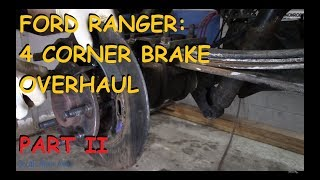 Ford Ranger : Full Brake Overhaul