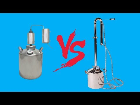 видео: СТАРЫЙ аппарат vs новый САМОГОННЫЙ аппарат mendeleeff