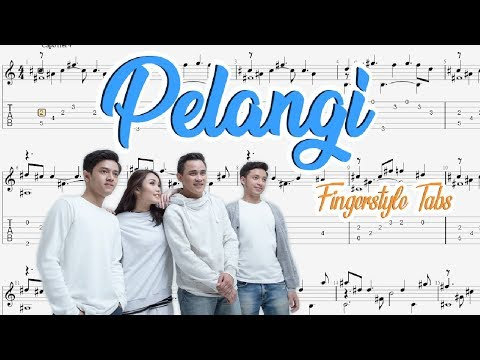 Pelangi - Hivi (Fingerstyle TABs)