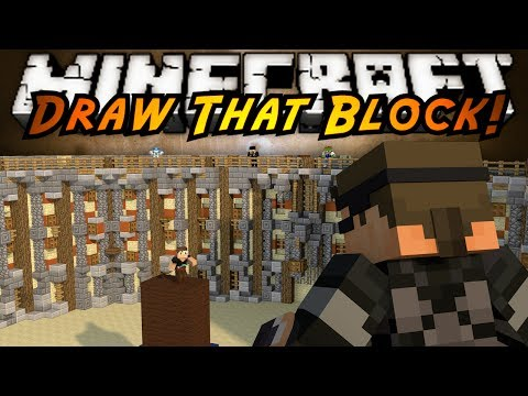 Minecraft Mini-Game : DRAW MY THING!