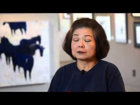Ming Franz Teaches Chinese Brush Painting and Splash Ink Painting