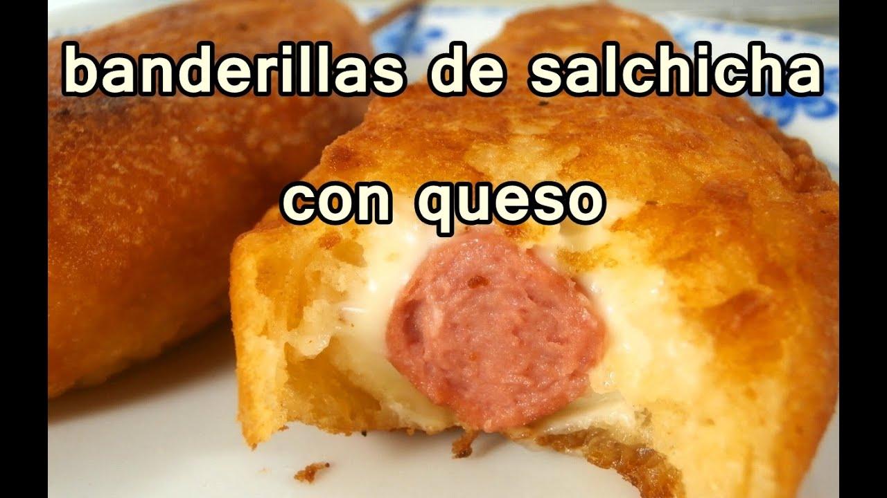 Banderillas de salchicha y queso recetas de cocina for Comidas rapidas de preparar