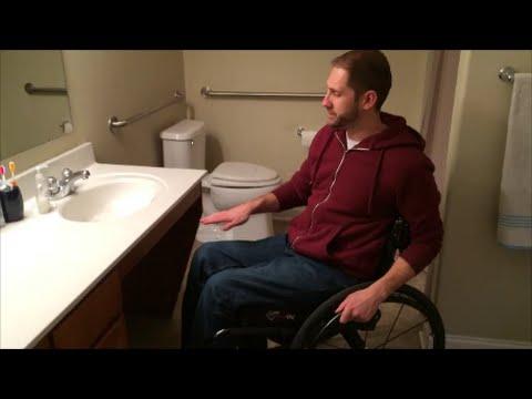 Wheelchair Accessible Home Bathroom