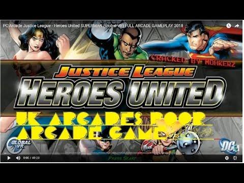 Justice League Heroes United Full Arcade Dump - Arcade Punks
