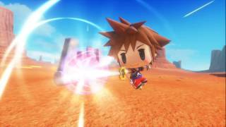 World of Final Fantasy - Kingdom Hearts Sora