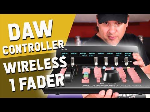 The 1 Fader Wireless DAW Controller  | ICON Platform Nano Air