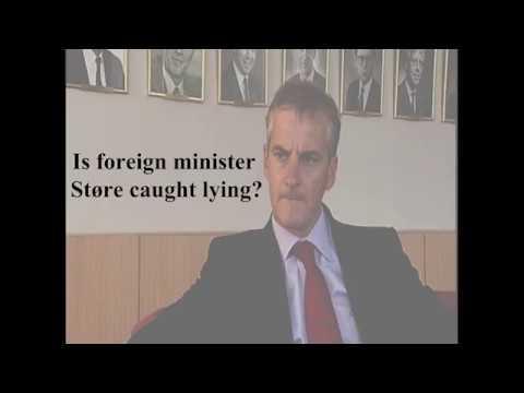 Jonas Gahr Støre caught lying?