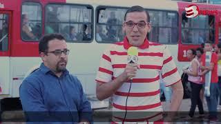 Tenóbio vai conferir os armengues do metrô de Salvador.