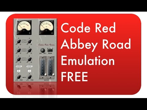 CODE RED FREE - Abbey Road REDD Console Emulation