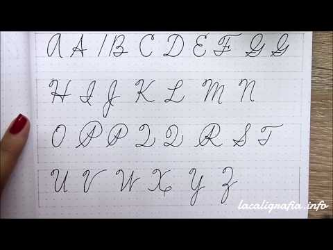 Uppercase Spencerian Step by Step