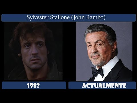 Rambo: Primera Sangre  Actores Antes Y Después 2018