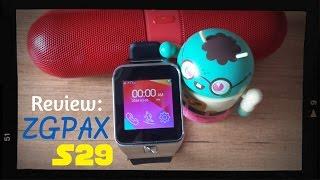 ZGPAX S29 - Review del reloj inteligente de $37 (Smartwatch) | IOS y Android