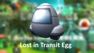 ROBLOX Egg Hunt 2017 How to get the Lost in Transit Egg