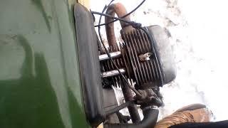 Гусеничный мотоцикл Урал
