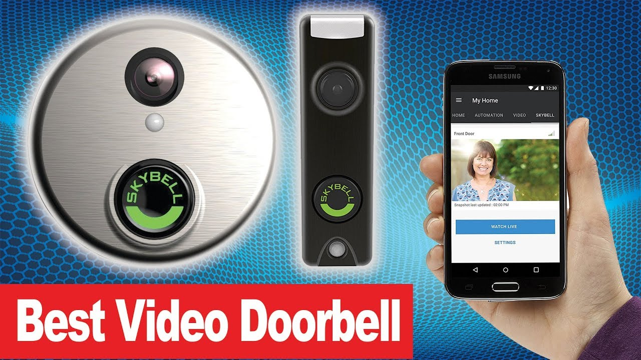 Best Video Doorbell for the price -Skybell Doorbell ☑️ Smart Home on home safe, home bathroom, home computer, home mailbox, home pain, home security, home lock, home flooring, home tree, home chimney, home fire, home stove, home kitchen, home toilet, home shower, home lights, home ladder, home driveway, home refrigerator,