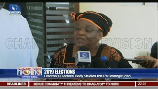 vuclip Lesotho's Electoral Body Studies INEC's Strategic Plan Pt 2  | News@10 |