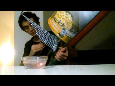 Self-made Instrument based on a Cristal Baschet