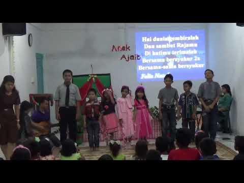 Natal anak sekolah Minggu GKMI Tanjung Sari Medan
