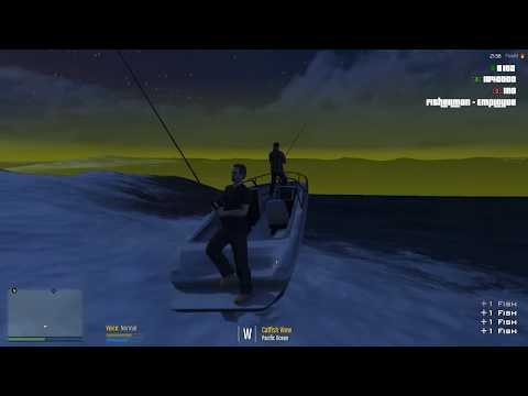 Law Breakers Rp.FiveM ESX server Ep#1. Buck,and Risky go to work as Fisherman (JOBS)