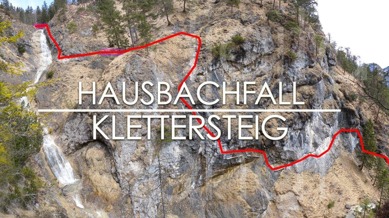 Klettersteig Reit Im Winkl : Hausbachfall klettersteig reit im winkl youtube