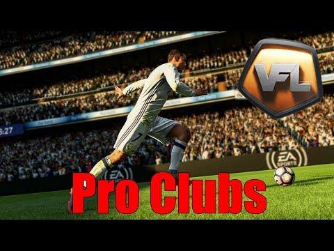 FIFA 18 Pro Clubs Virtual Football League #2